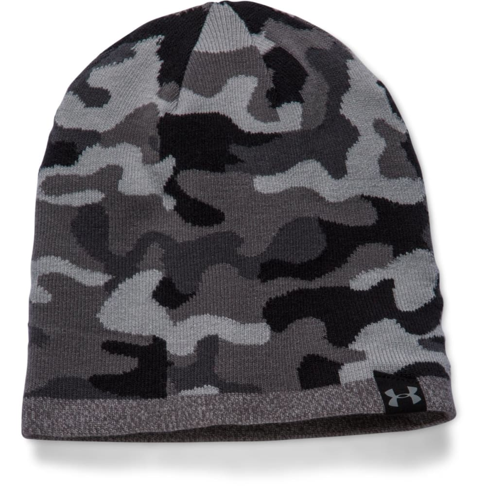UNDER ARMOUR Men's 2-Way Camo Beanie - STEEL