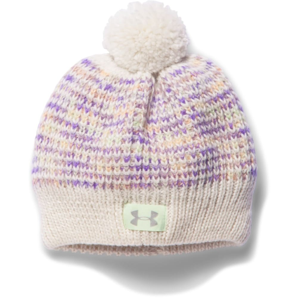 UNDER ARMOUR Girls' Speckle Beanie - WHITE
