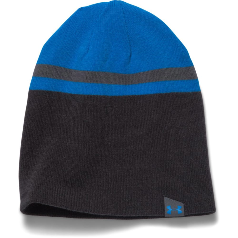 UNDER ARMOUR Men's UA 4 in 1 Beanie - BLUE JET/BLACK