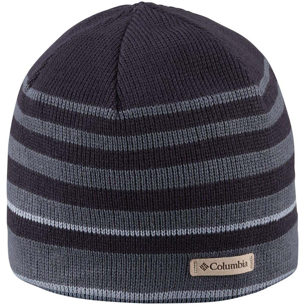 COLUMBIA Men's Winter Worn Beanie - BLACK STRIPE 013