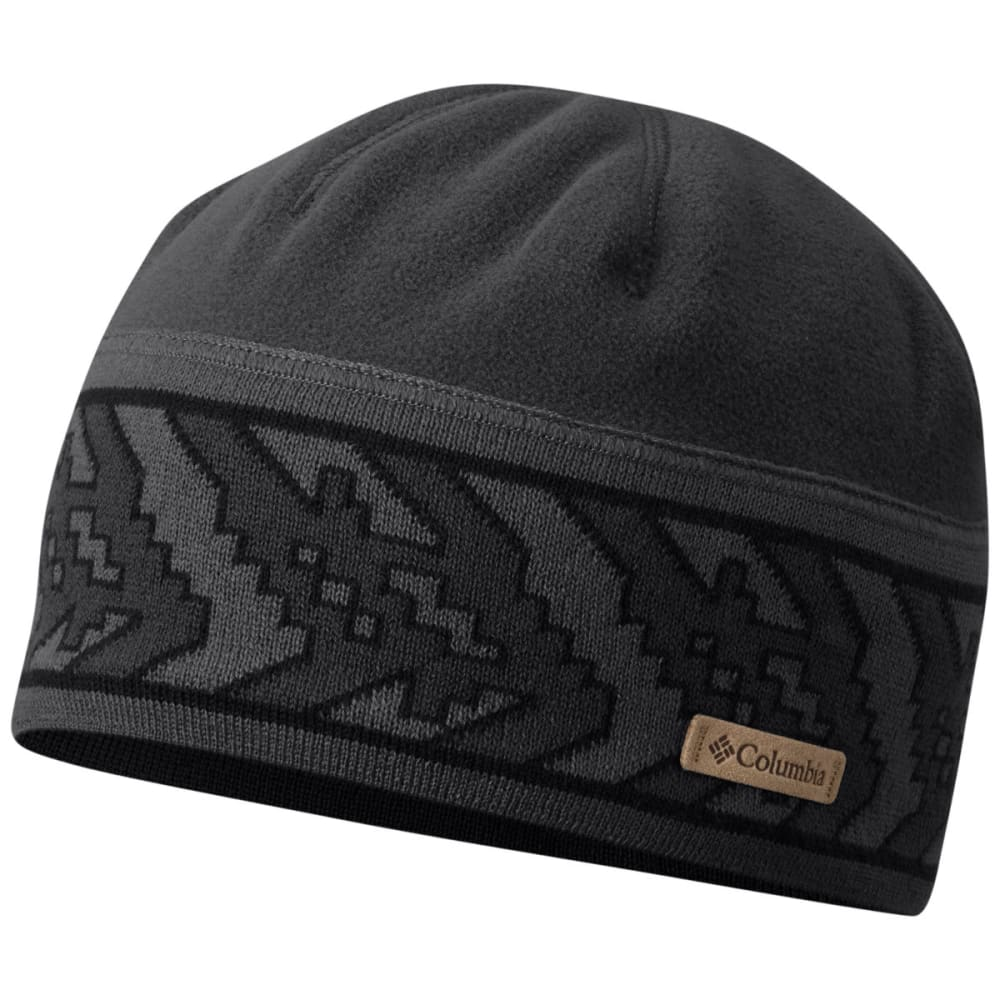 COLUMBIA Men's Alpine Pass Beanie - 012-BLK GALICUT