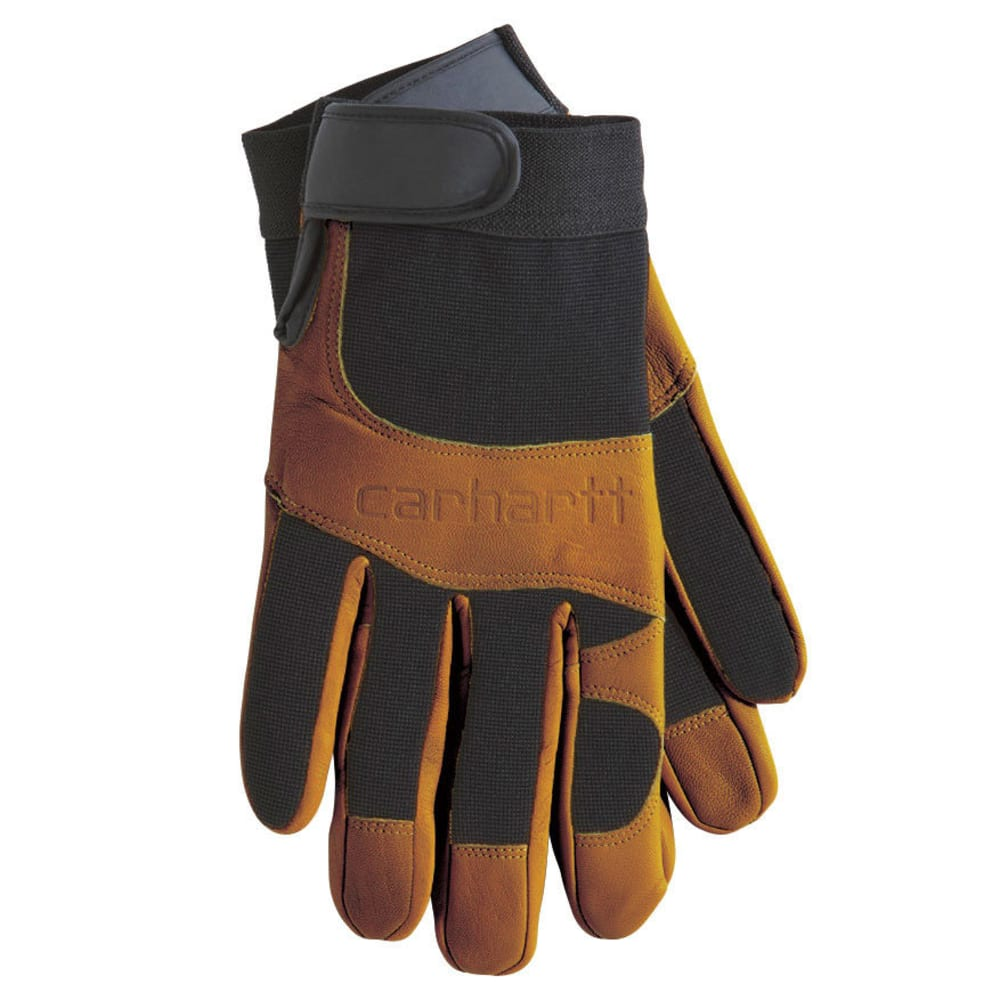CARHARTT Men's Dex Gloves - BROWN