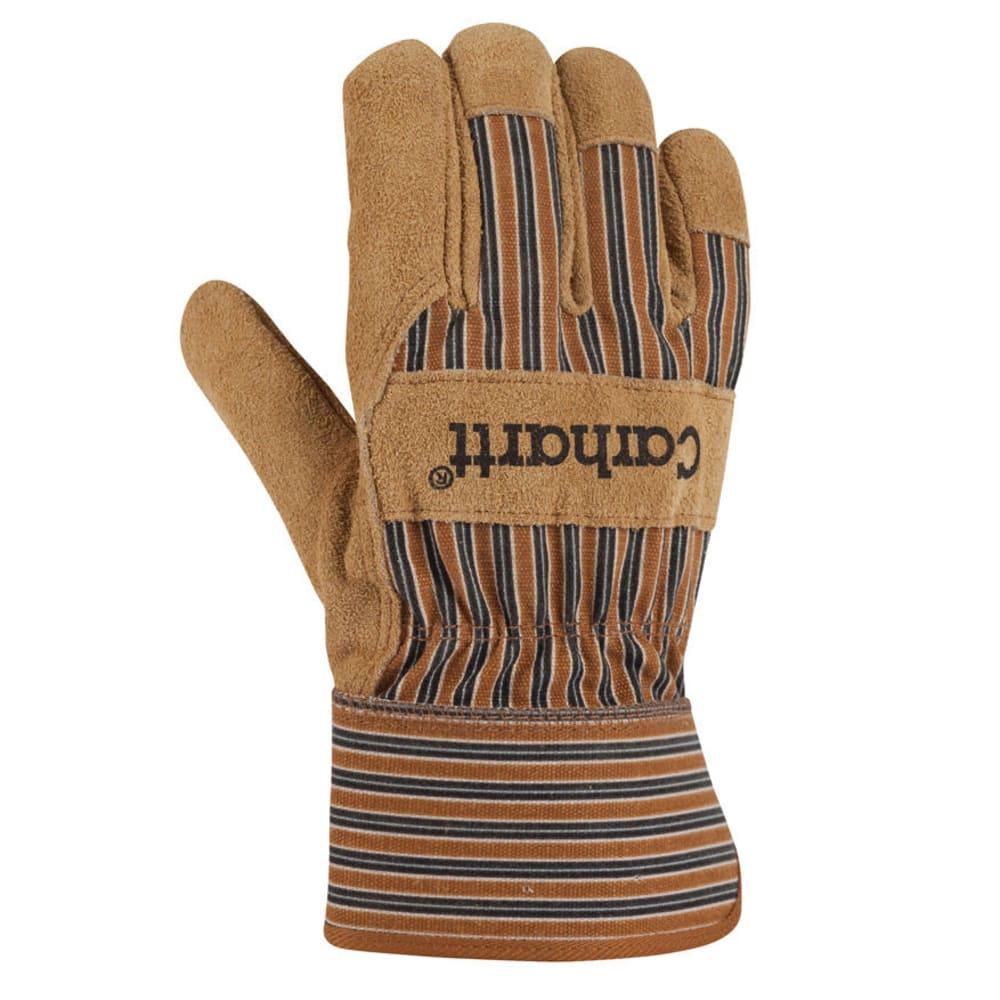 CARHARTT Men's Insulated Suede Safety Gloves - BROWN