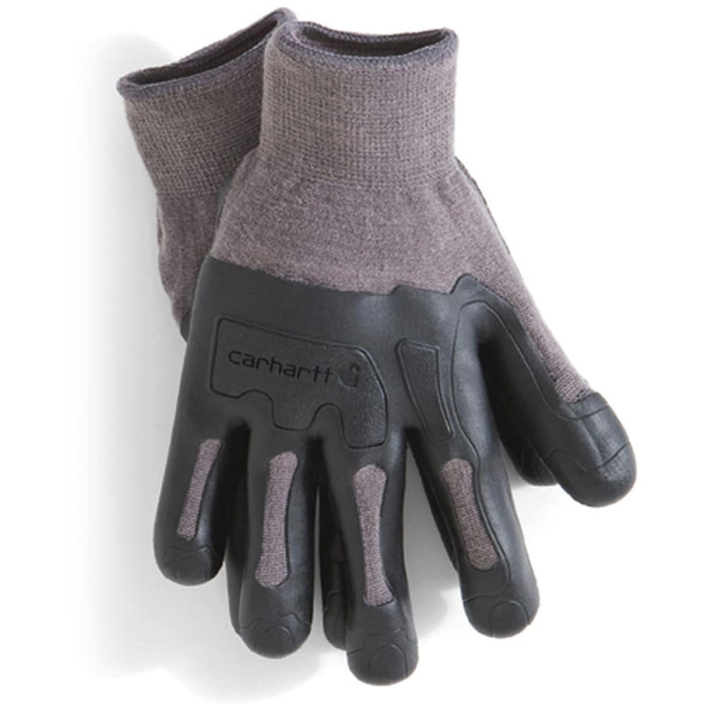CARHARTT Men's C Grip Knuckler Work Gloves - GREY