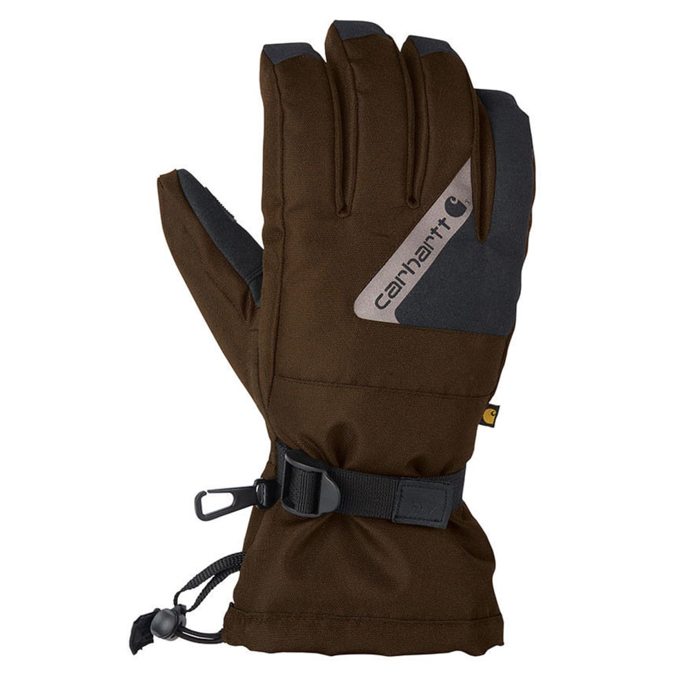 CARHARTT Pipeline Gloves - BLACK/BROWN