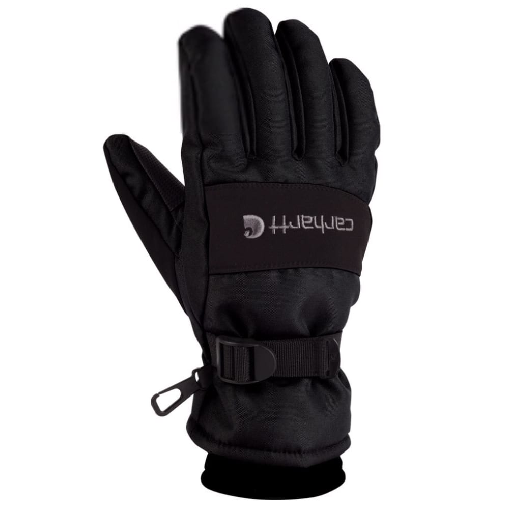 Carhartt Men's Waterproof Gloves - Black, M