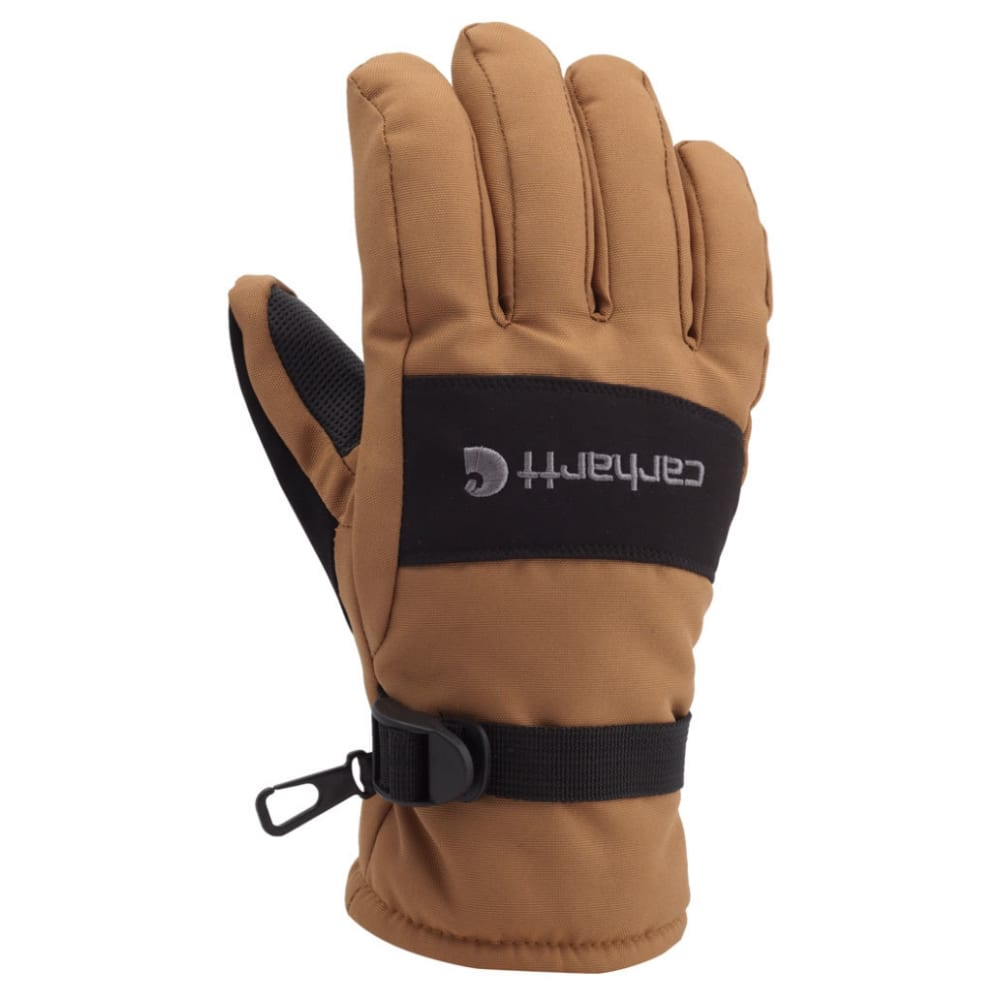 CARHARTT Men's Waterproof Gloves - BROWN