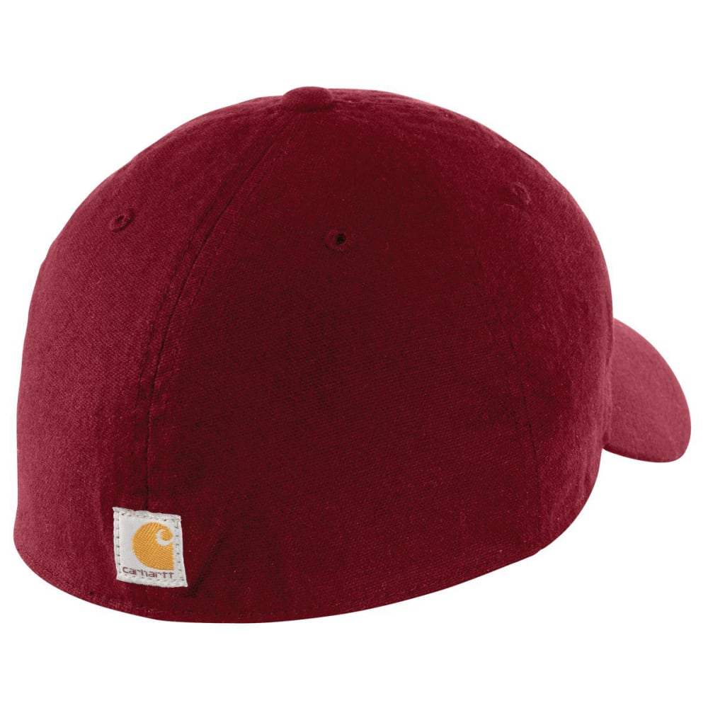 CARHARTT Men's Oakhaven Cap - DARK CRIMSON