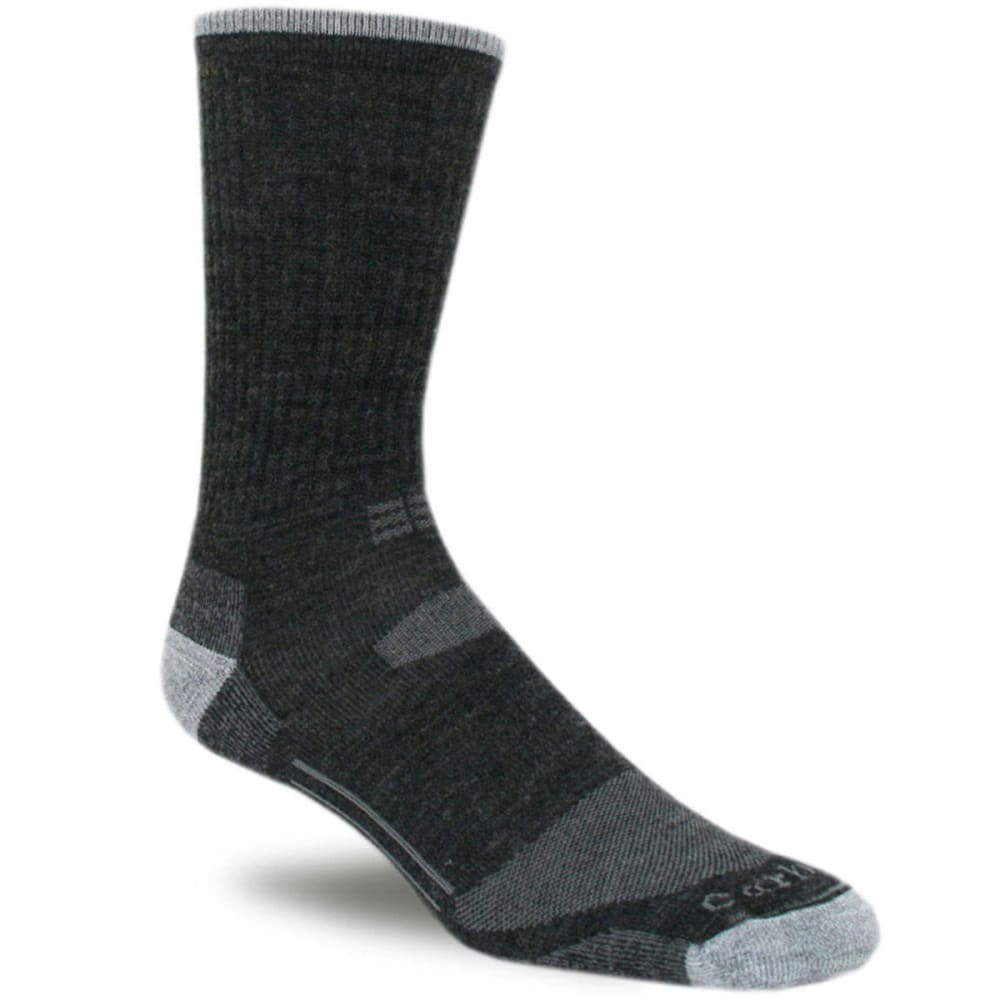 Carhartt Men's Work-Dry All Terrain Crew Socks - Black, L
