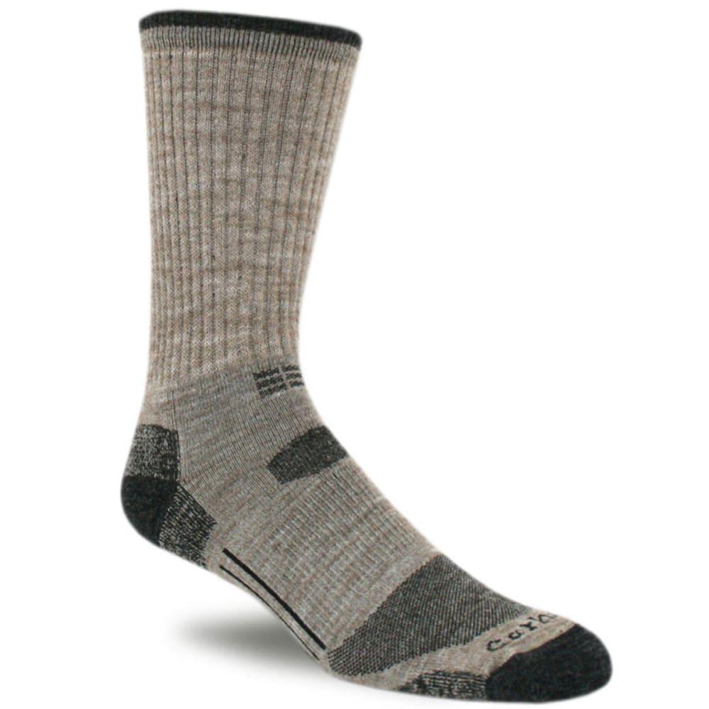 CARHARTT Men's Work-Dry All Terrain Crew Socks - TAN