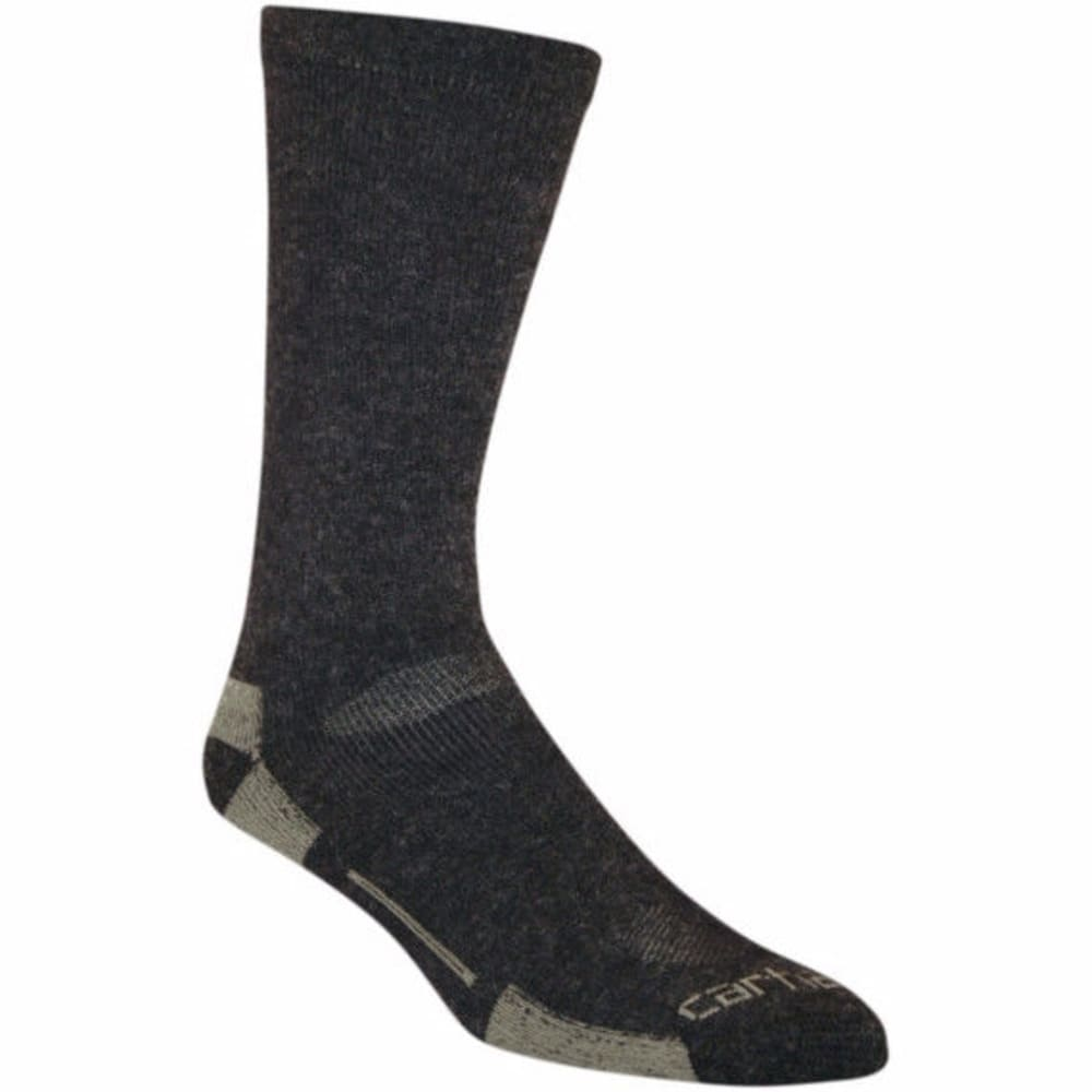 CARHARTT Men's Full Cushion All Terrain Boot Socks - BLACK