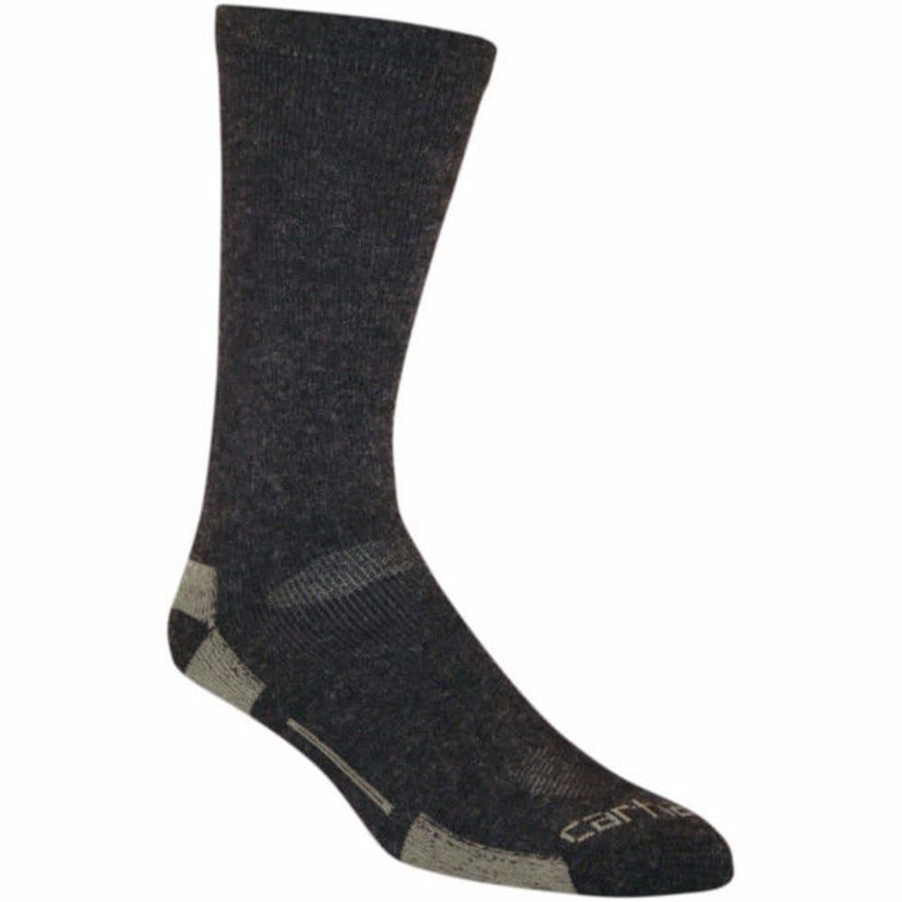 CARHARTT Men's Full Cushion All Terrain Boot Socks - BLACK