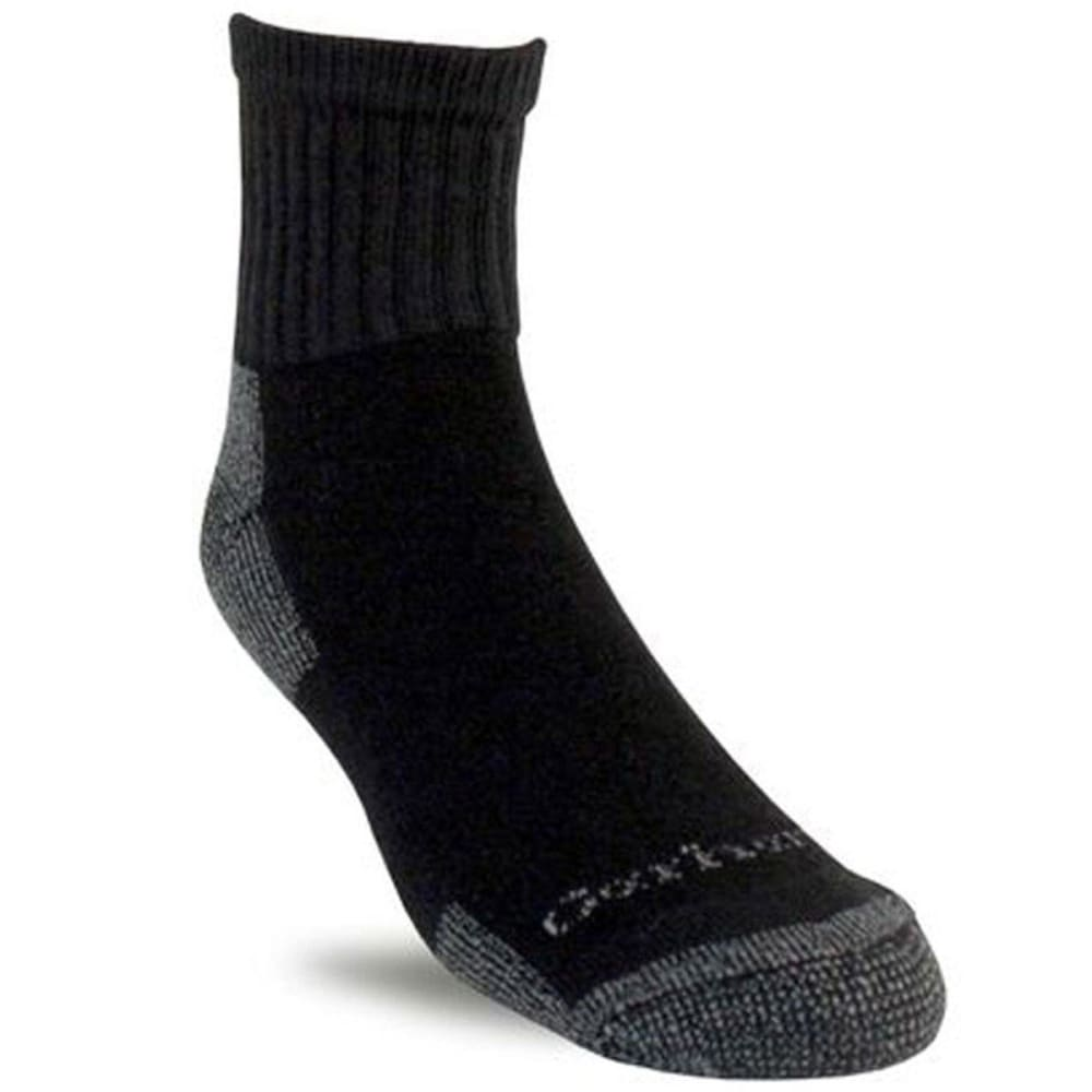 CARHARTT Men's Low Cut Socks, 3-Pack - BLACK