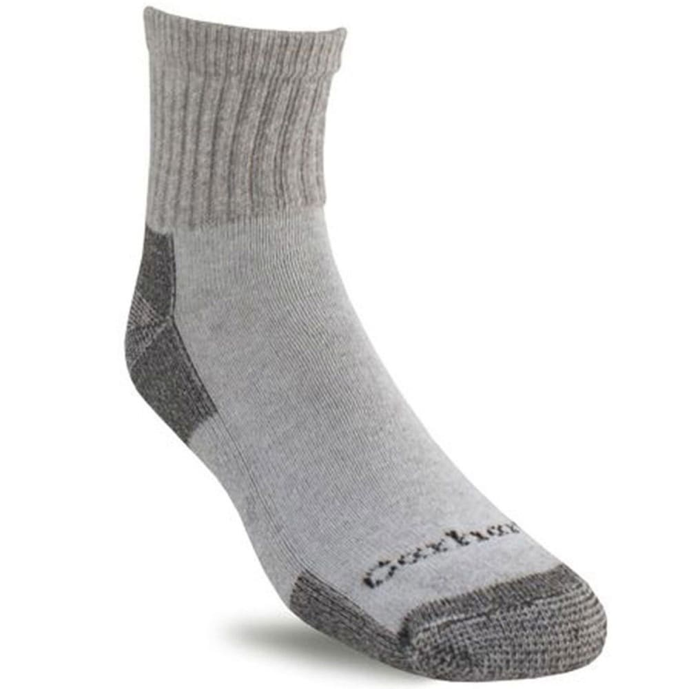 CARHARTT Men's Low Cut Socks, 3-Pack L