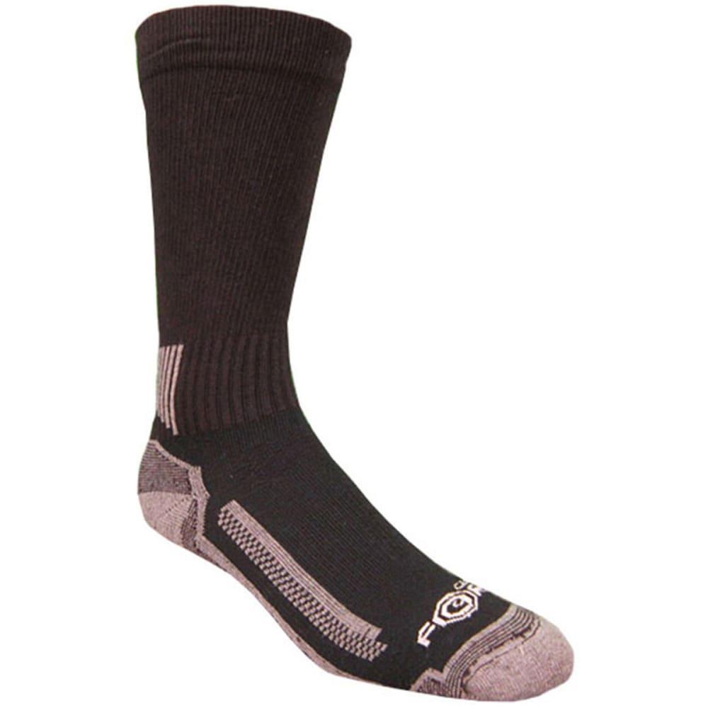CARHARTT Men's Force Performance Work Crew Socks, 3-Pack - BLACK