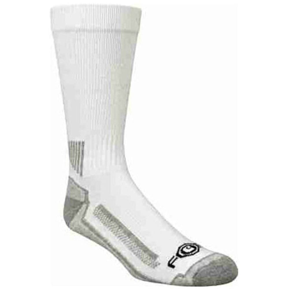 Carhartt Men's Force Performance Work Crew Socks, 3-Pack - White, L