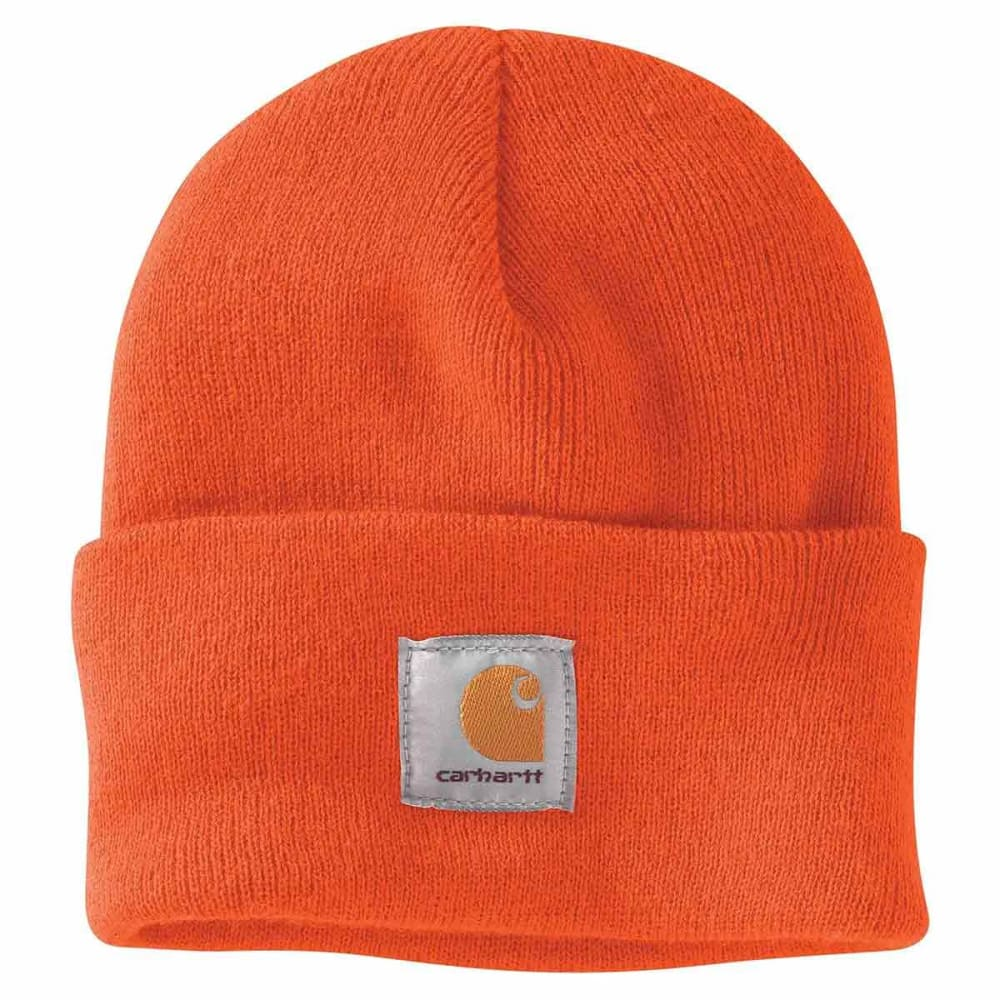 CARHARTT Acrylic Watch Hat - BRIGHT ORANGE BOG