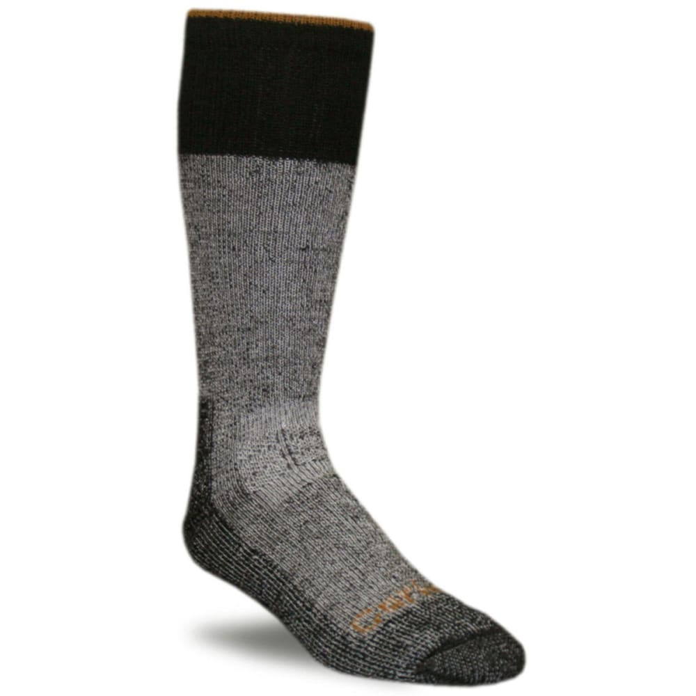 CARHARTT Men's Winter Boot Socks - HEATHER BLACK