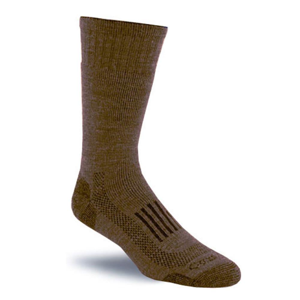 CARHARTT Triple Blend Thermal Crew Socks, Brown - BROWN
