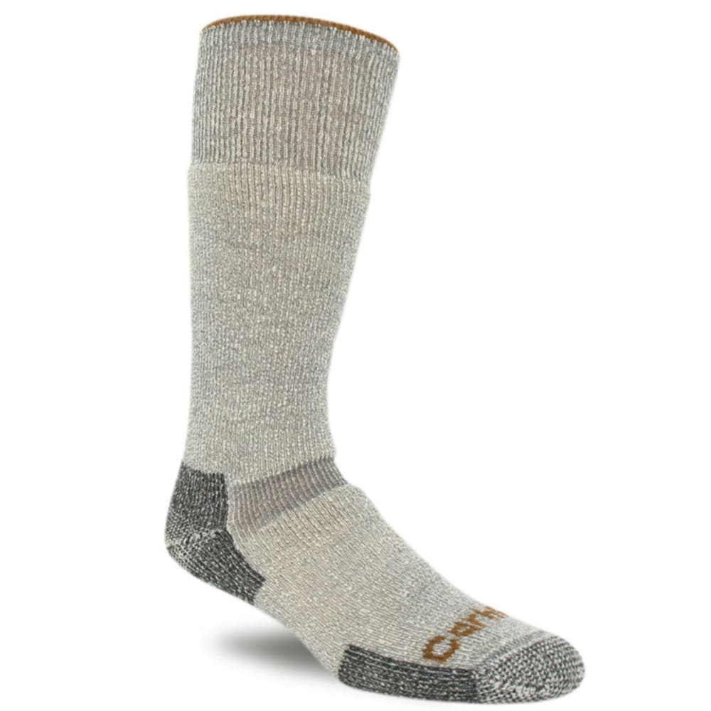 Carhartt Men's Wool Blend Heavyweight Socks - Brown, L