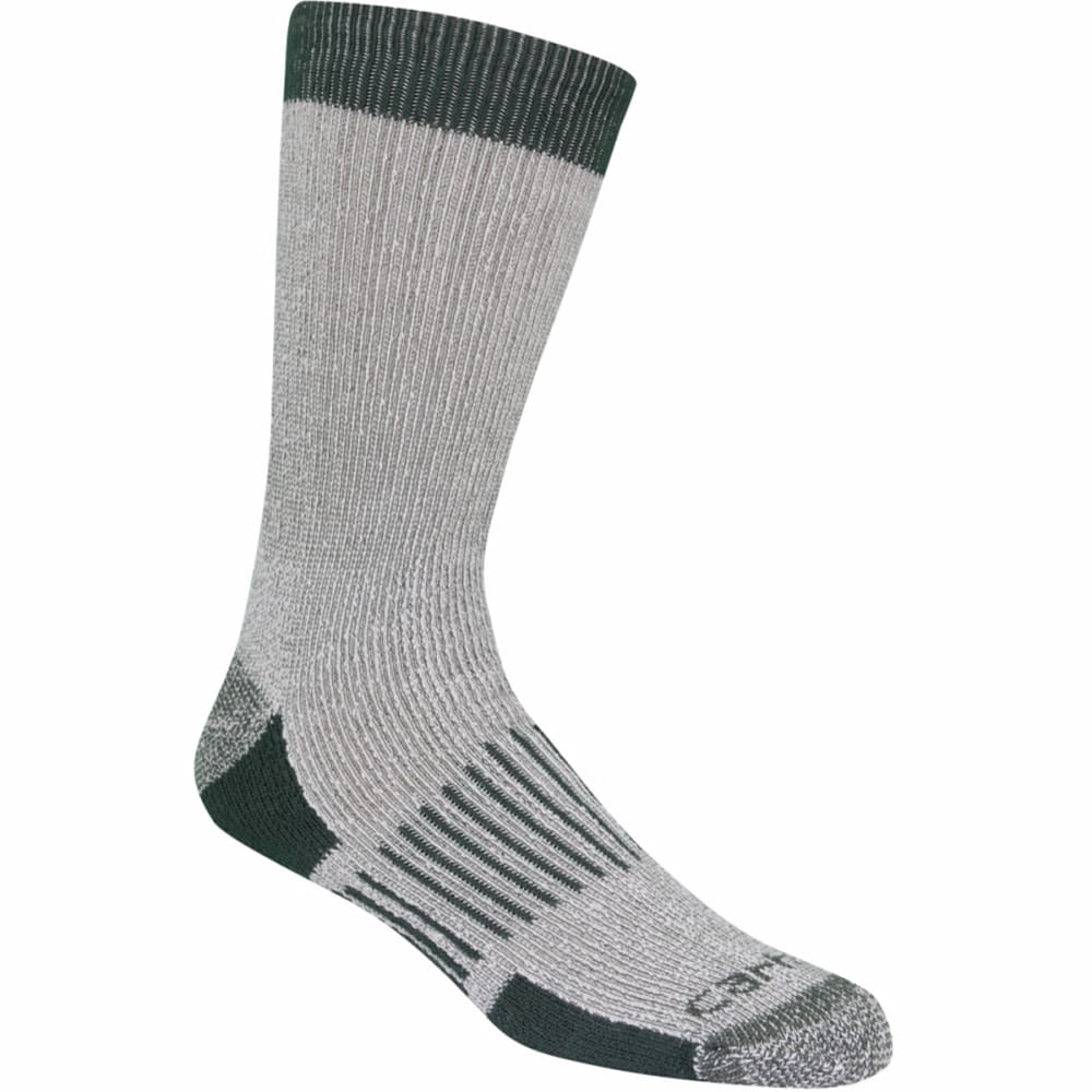 CARHARTT Men's 4-Pack Full Cushion Stretch Comfort Socks - MOSS