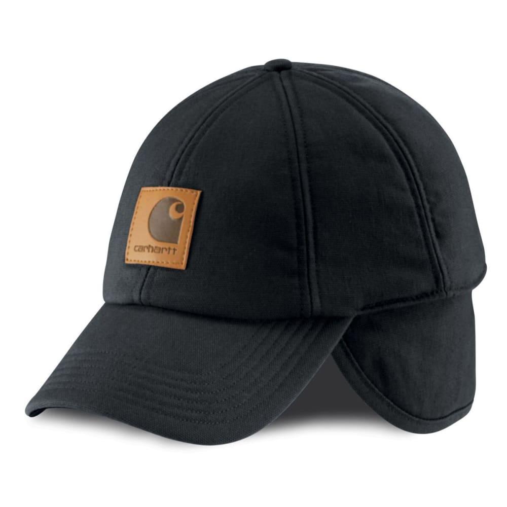 CARHARTT Men's WorkFlex® Ear-Flap Cap - ONYX
