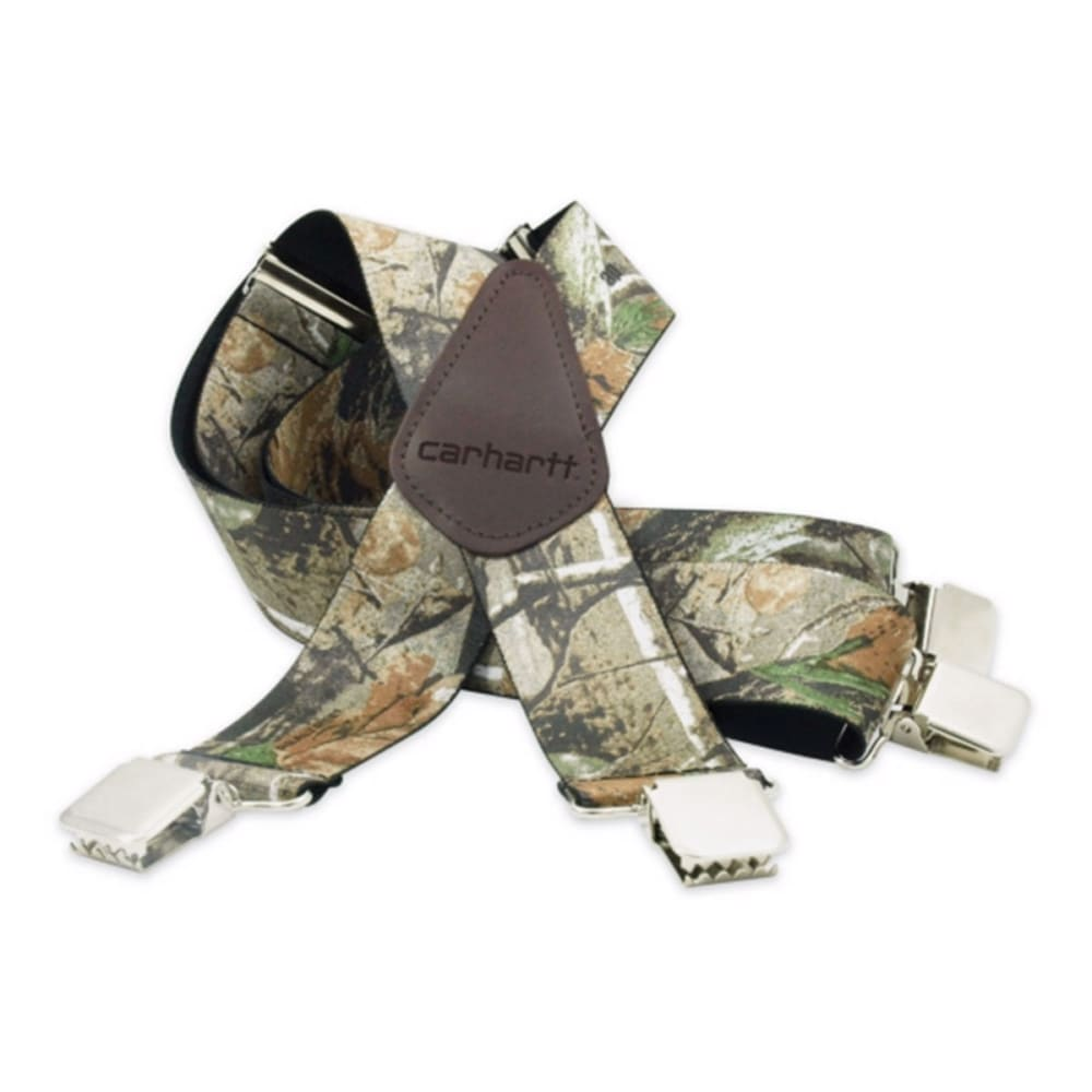 CARHARTT Men's REALTREE Camo Suspender - CAMO BROWN