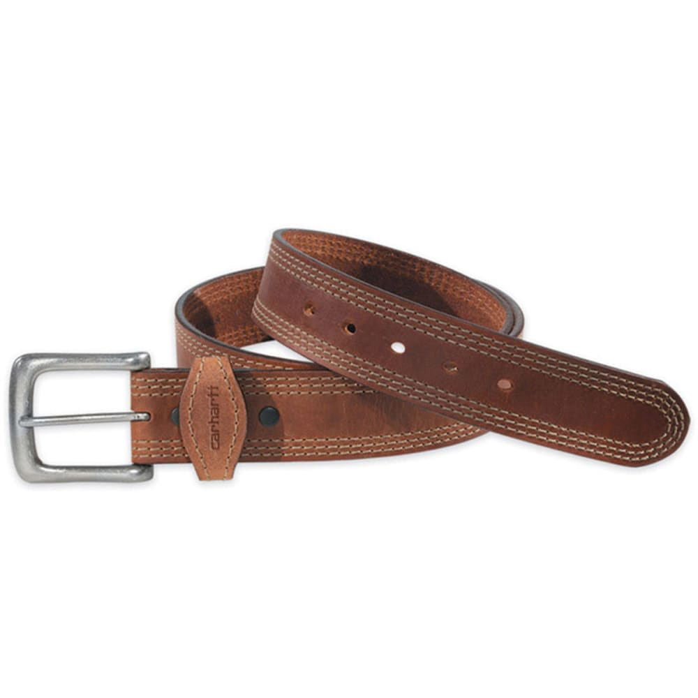 Carhartt Men's Detroit Leather Belt - Brown, 34