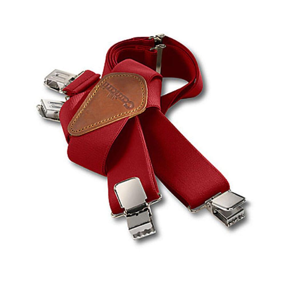 CARHARTT Utility Suspenders - RED