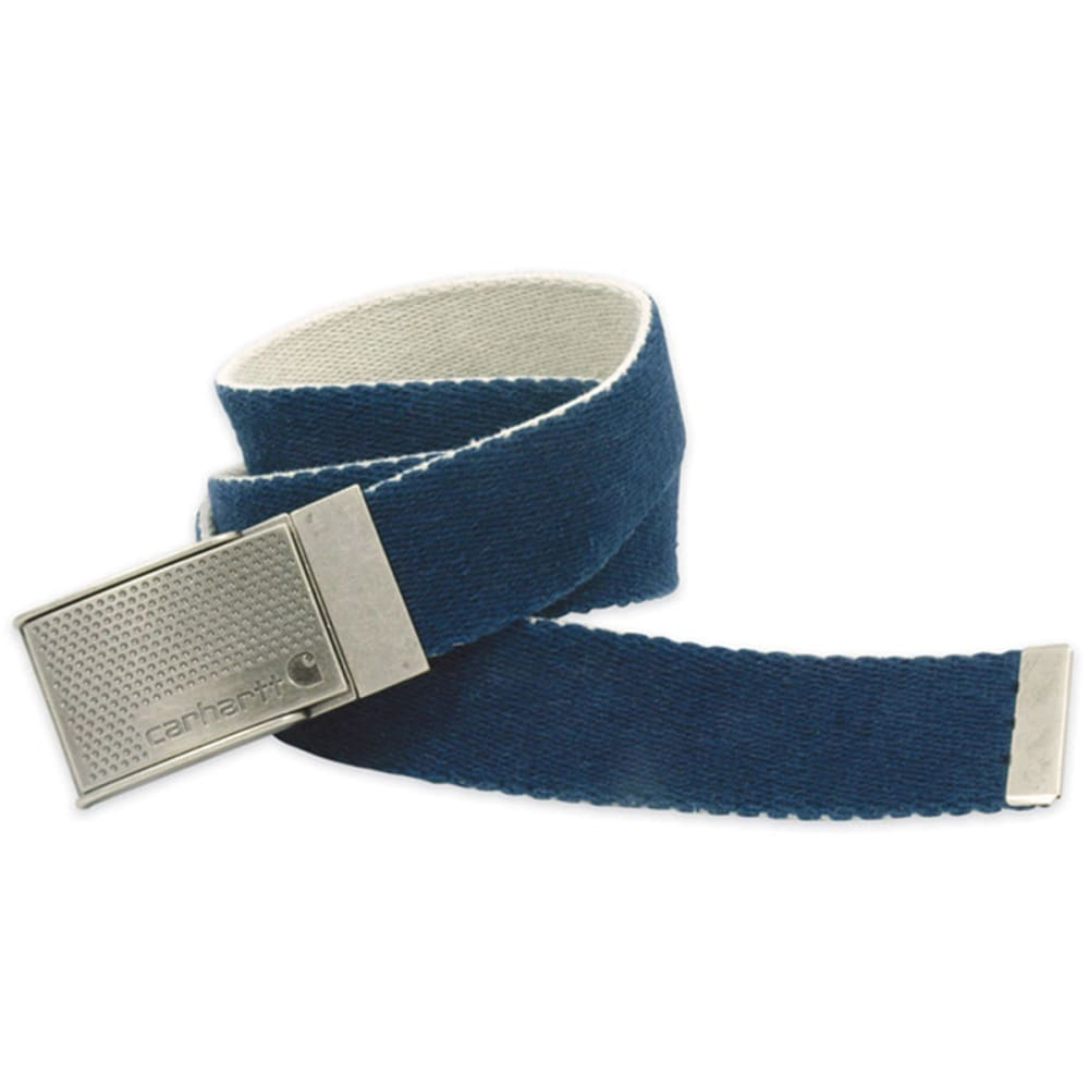 CARHARTT Reversible Cotton Web Belt - NAVY