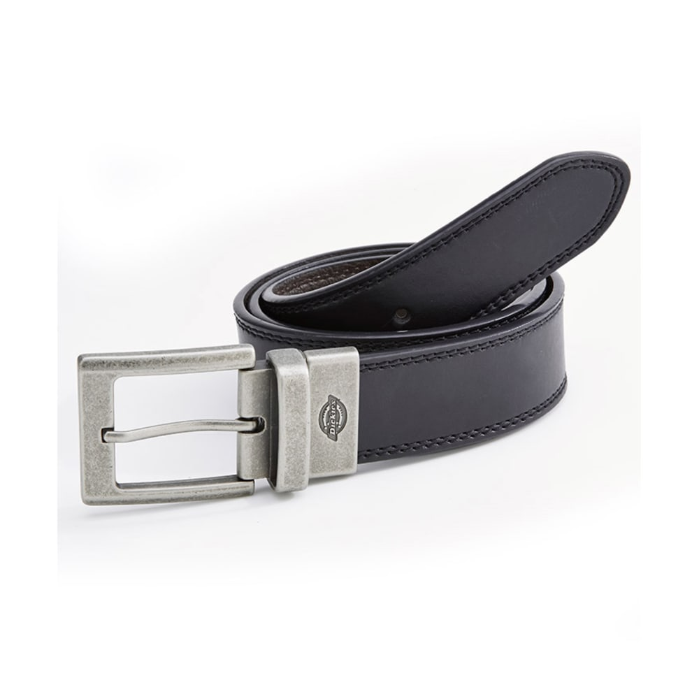 DICKIES Men's Reversible Belt - BLACK/BROWN
