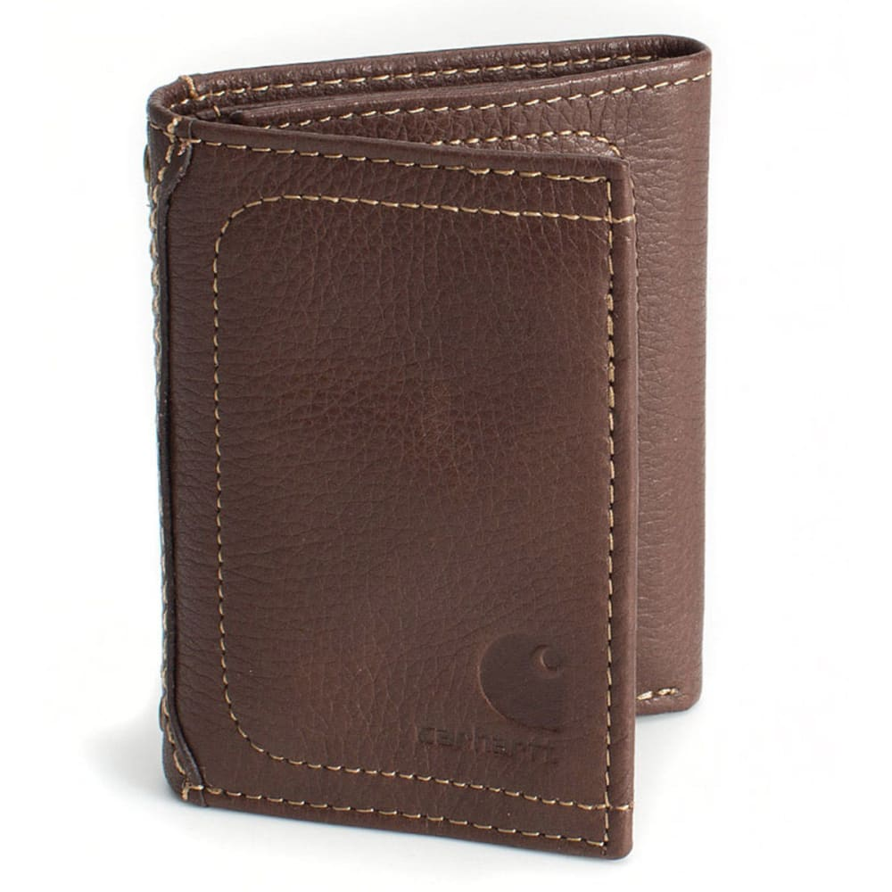 CARHARTT Pebble Trifold Wallet - BROWN