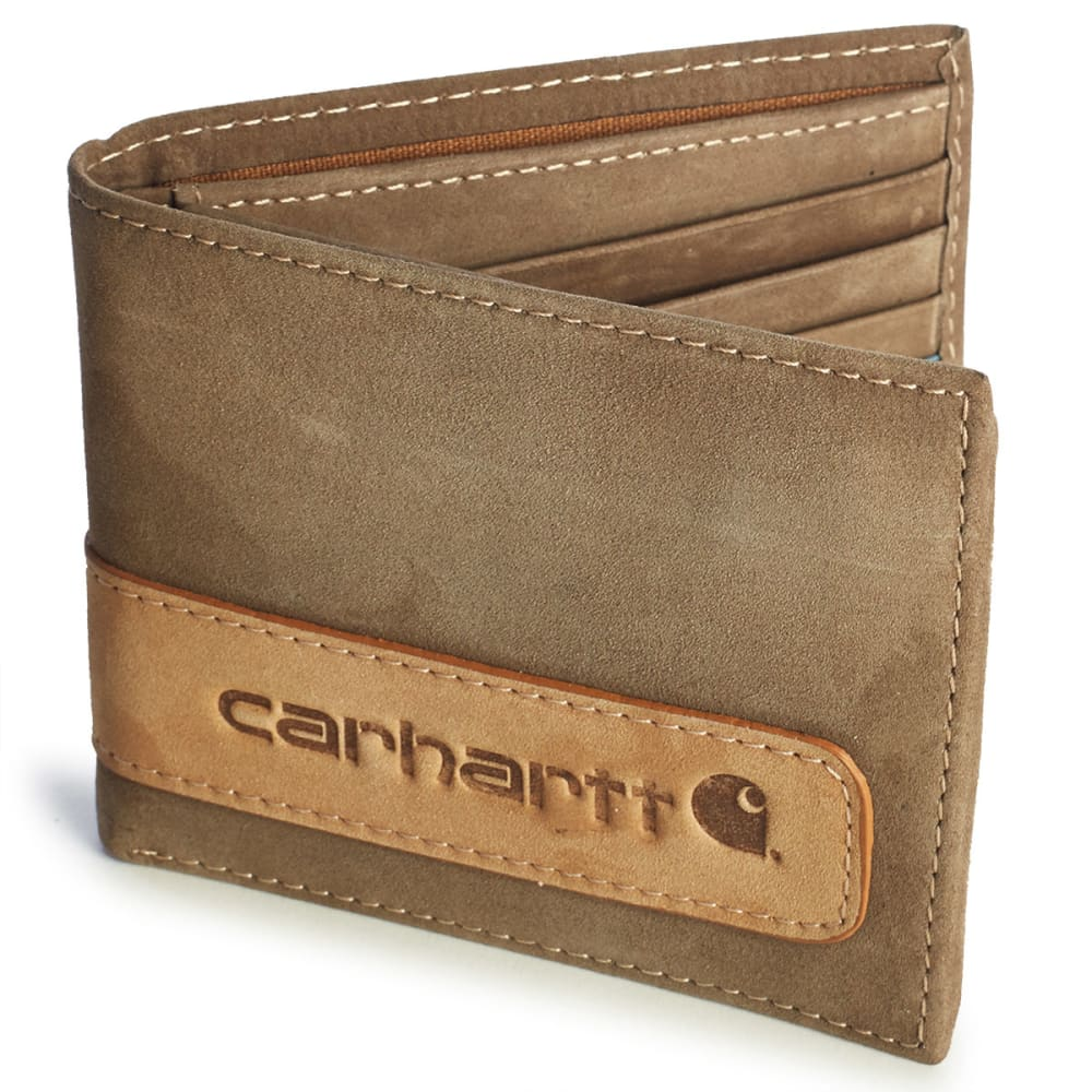 Carhartt Two-Tone Billfold With Wing Wallet And Collectible Tin