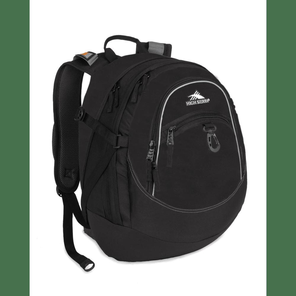 HIGH SIERRA Fat Boy Backpack - BLACK