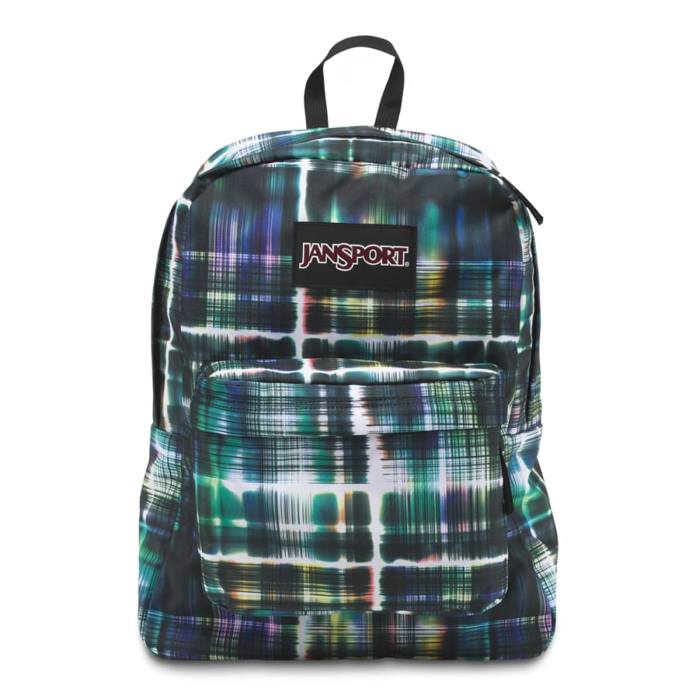 JANSPORT Superbreak Backpack - BLACK/MULTI