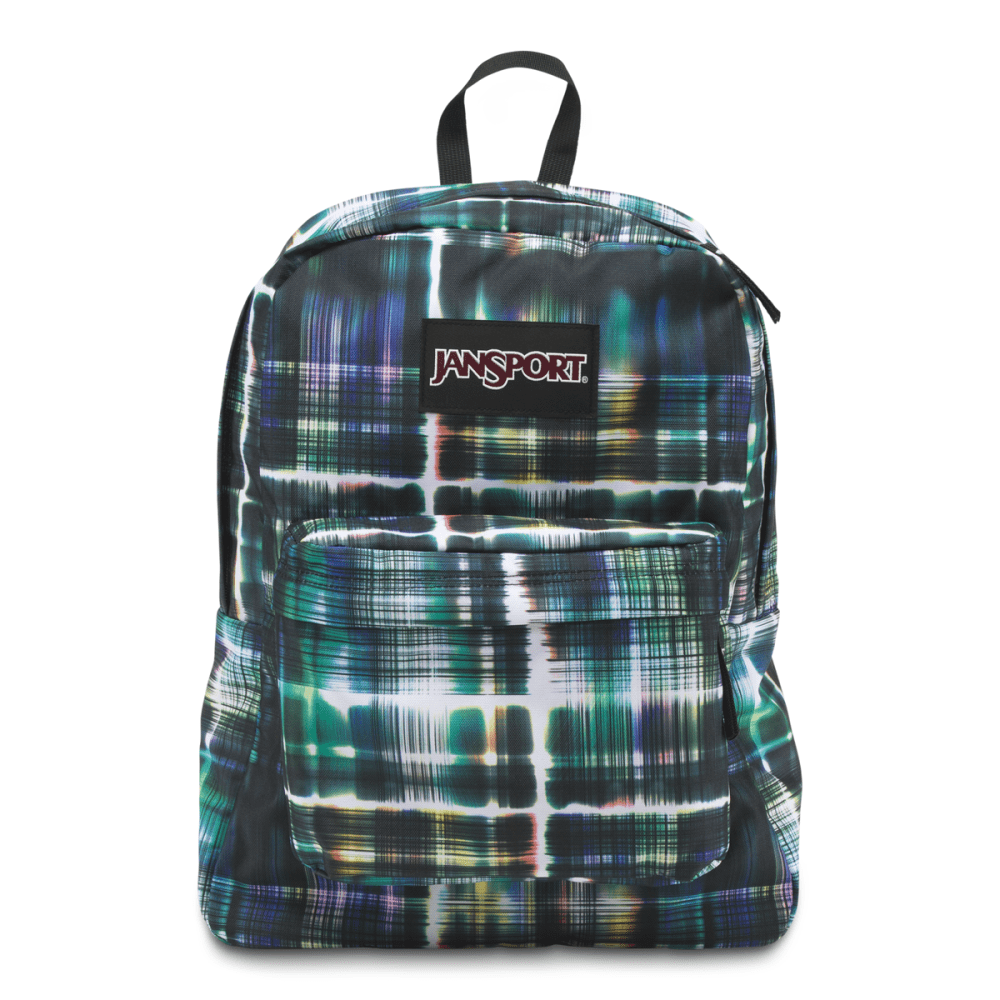 JANSPORT Superbreak Backpack - BLACK/MULTI