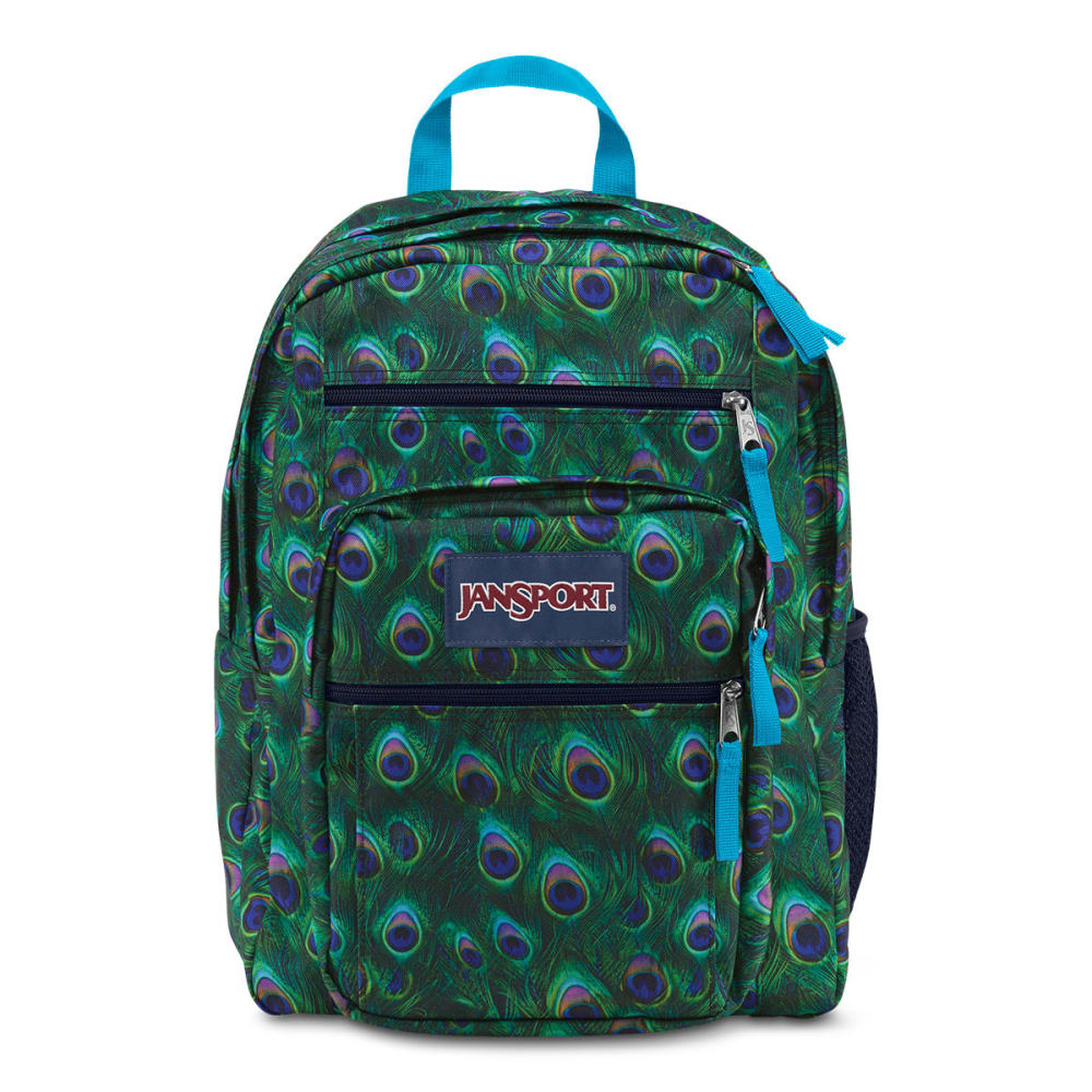 JANSPORT Big Student Backpack - MULTI PEACOCK