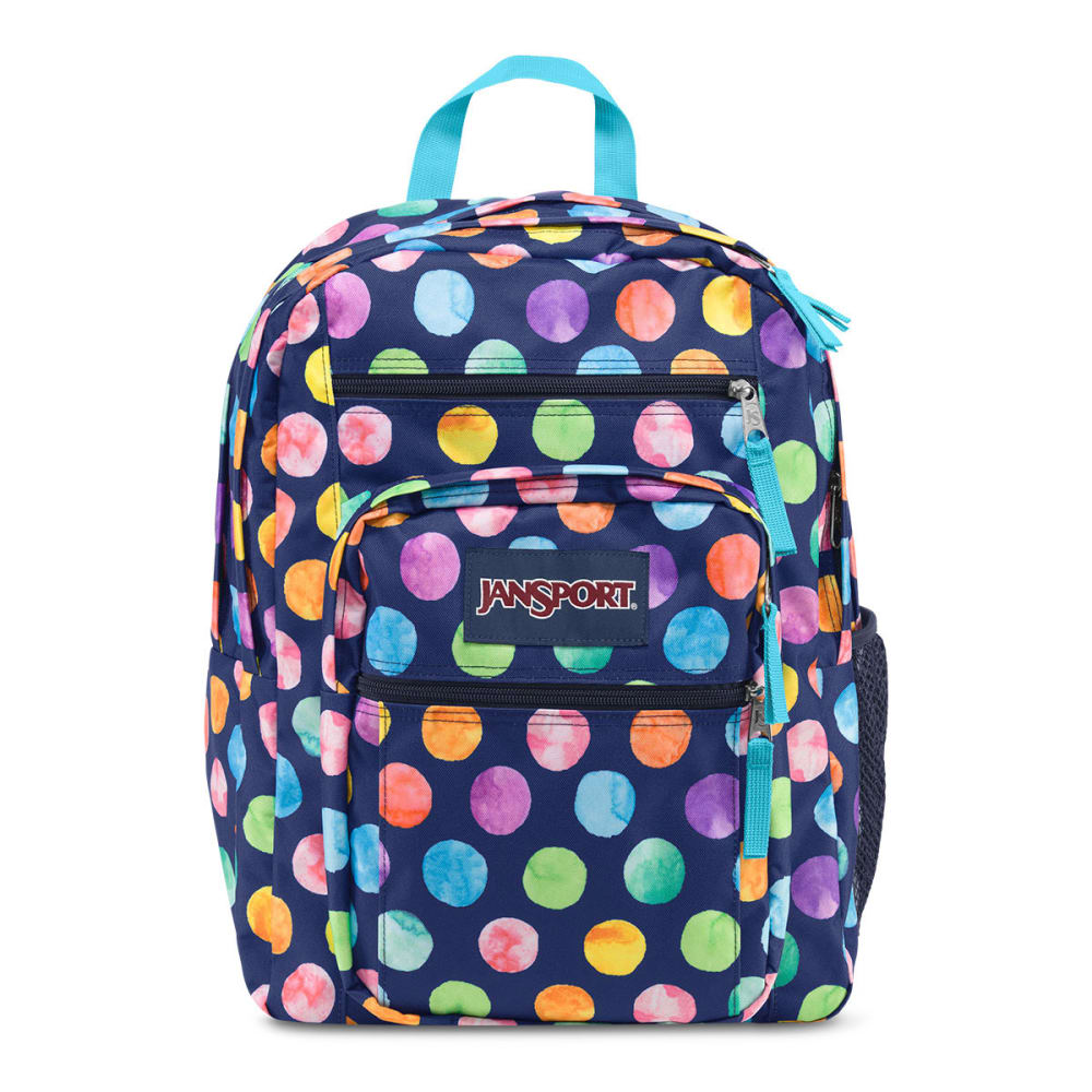 JANSPORT Big Student Backpack - MULTI WATERCOLOR