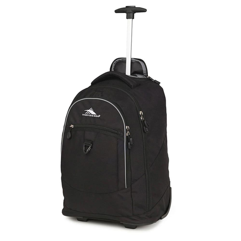 HIGH SIERRA Chaser Wheeled Backpack - BLACK