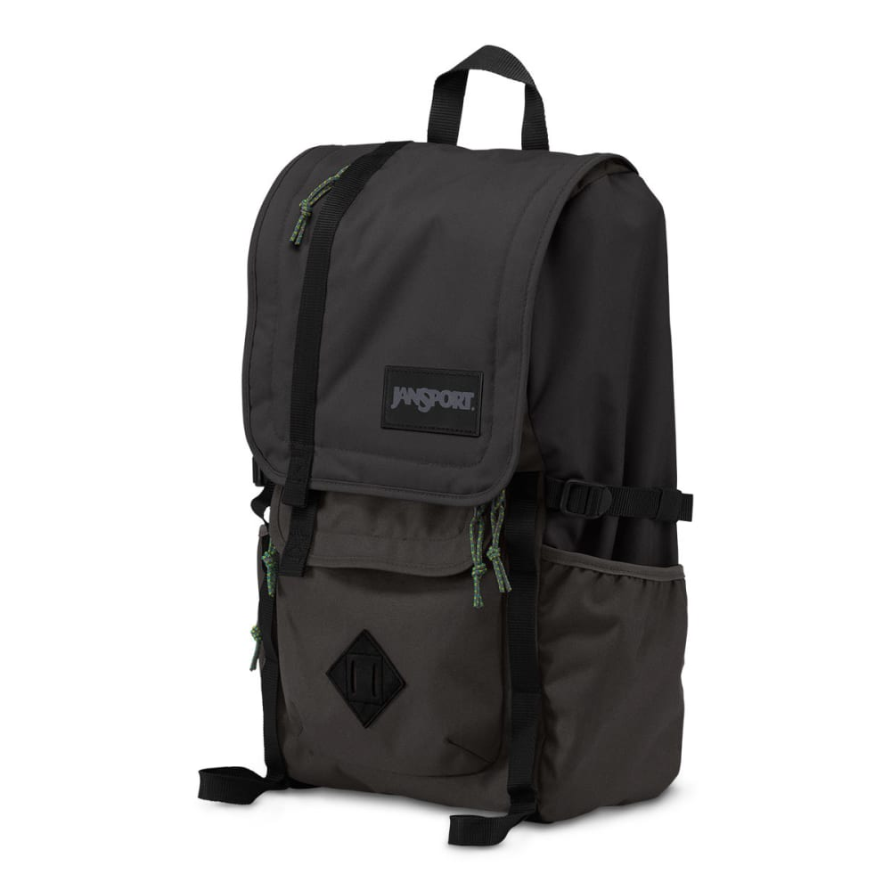 JANSPORT Hatchet Top Loader Backpack - GREY TAR 6XJ