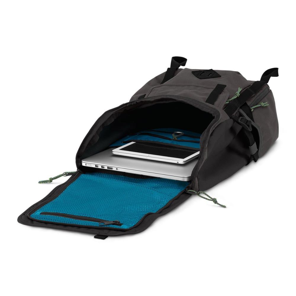 JANSPORT Hatchet Top Loader Backpack - GREY TAR 6XJ
