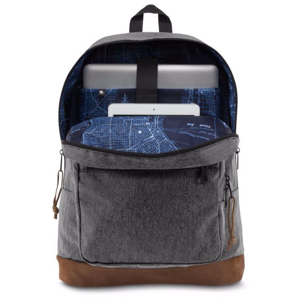 JANSPORT Right Pack™ Digital Edition Backpack - BLK/WHITE HERBON 0LT
