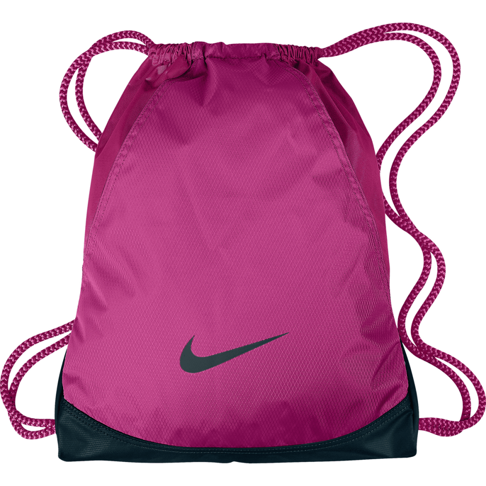 NIKE Women's Varsity Sackpack - BRIGHT CRIMSON