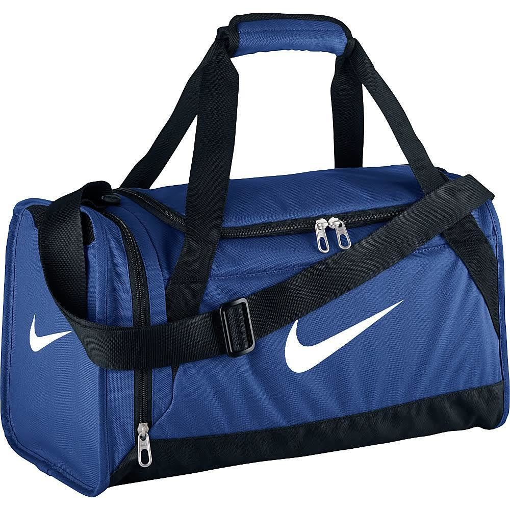 NIKE Brasilia 5 Duffel Bag, Small - ROYAL BLUE 411