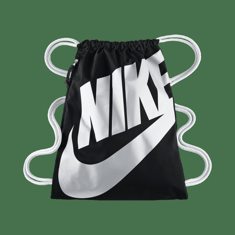 NIKE Heritage Sackpack - BLK/WHITE 011
