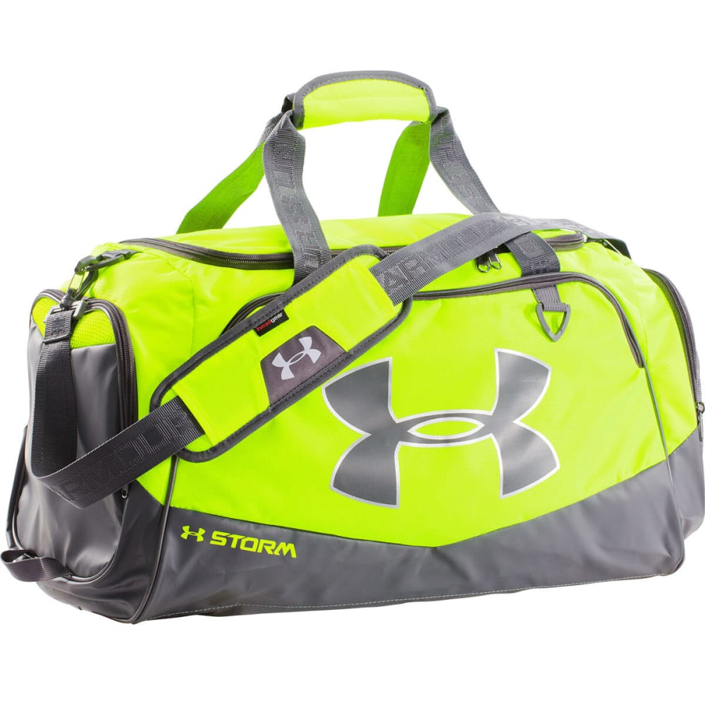 UNDER ARMOUR UA Undeniable Storm Medium Duffle - HI VIS/BLACK