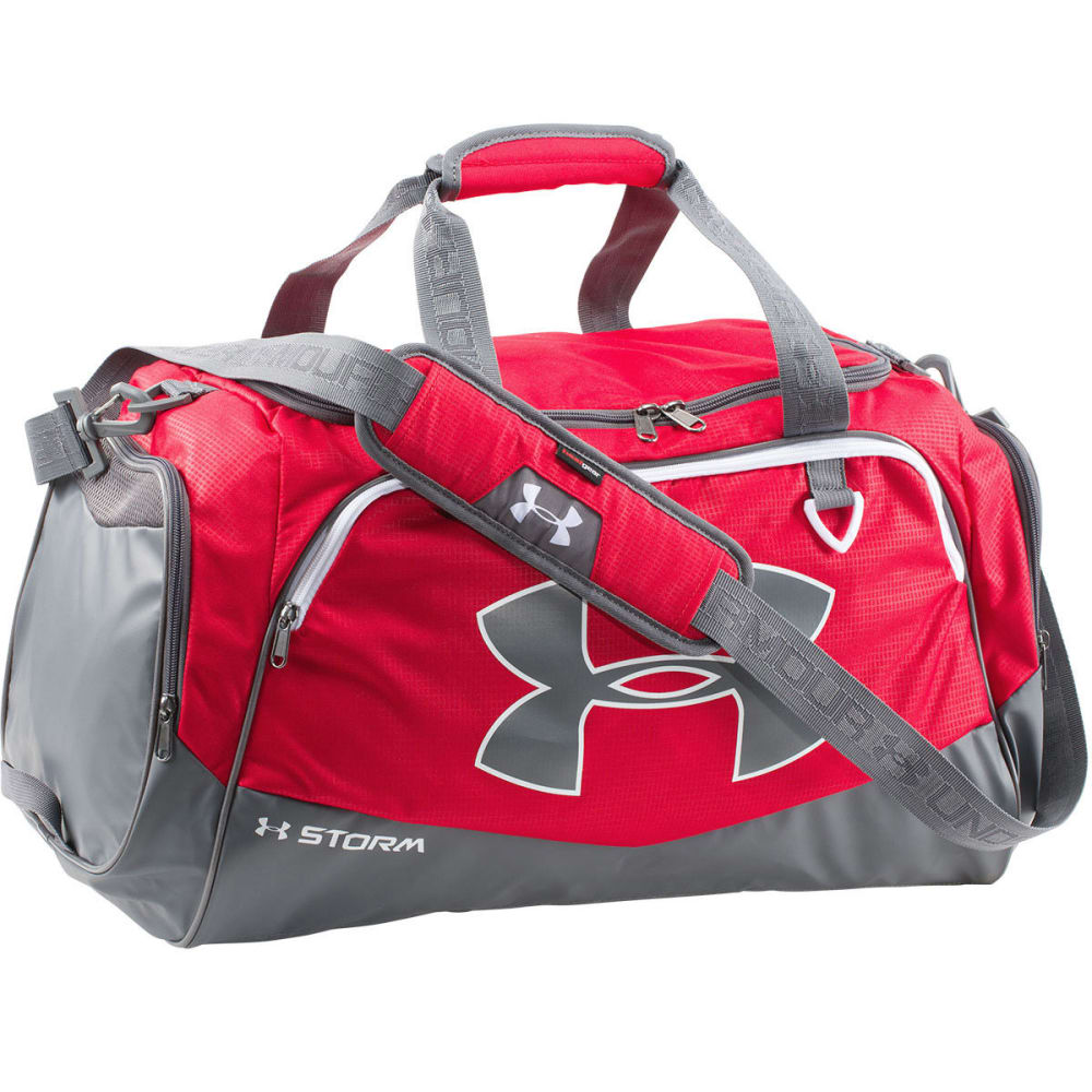 UNDER ARMOUR UA Undeniable Storm Medium Duffle - BLACK/RED-600