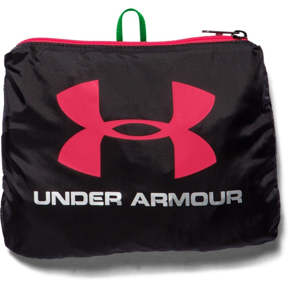 UNDER ARMOUR Adaptable Duffle Bag - BLACK/PINK