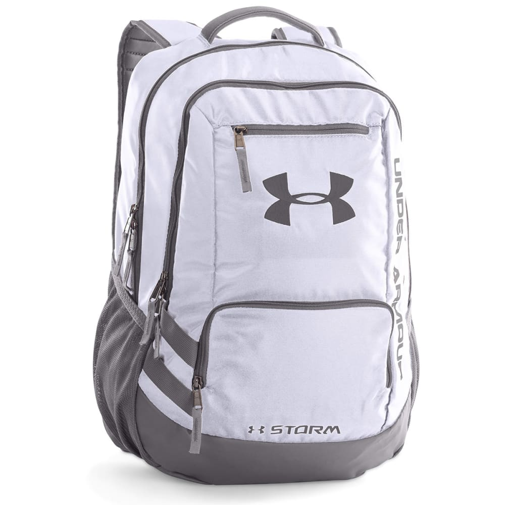 UNDER ARMOUR Hustle Backpack II - WHITE 100