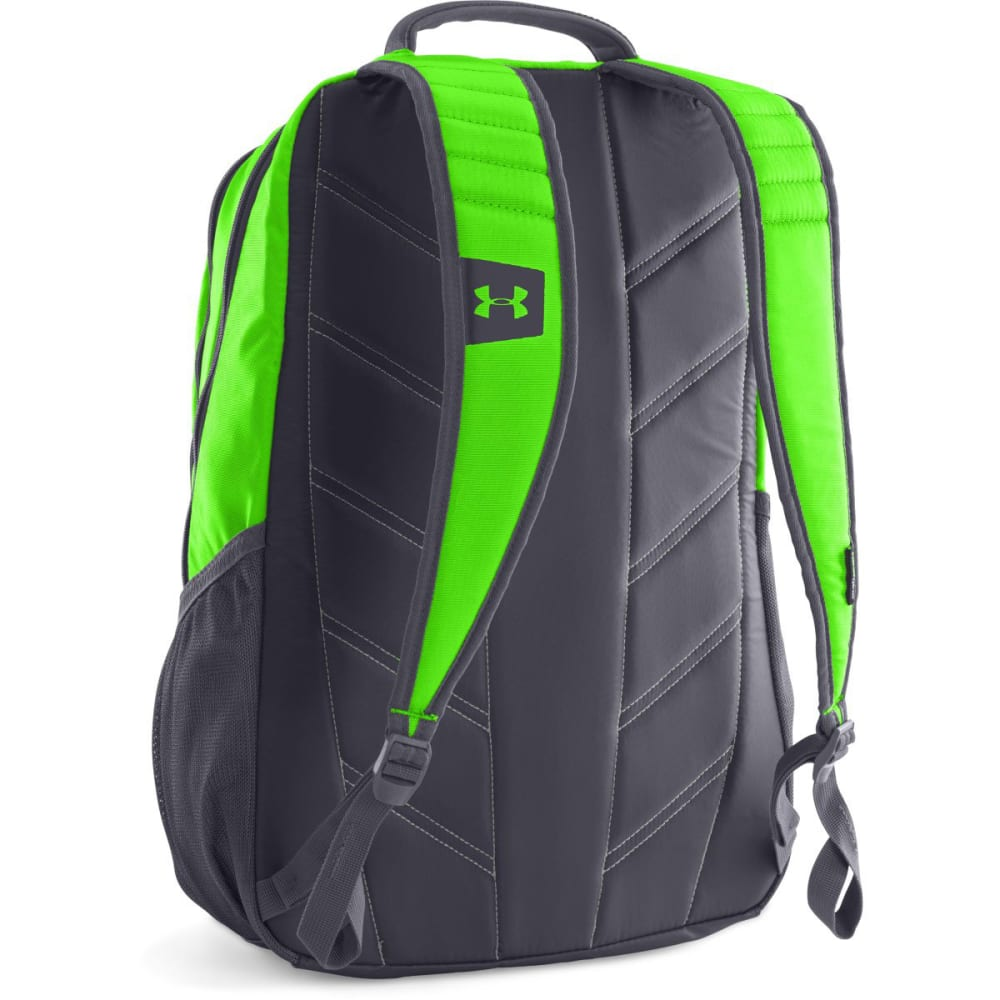 UNDER ARMOUR Hustle Backpack II - HYPER GREEN 389